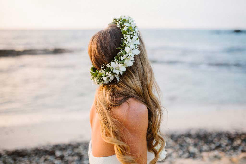 wedding flowers, kukio beach wedding