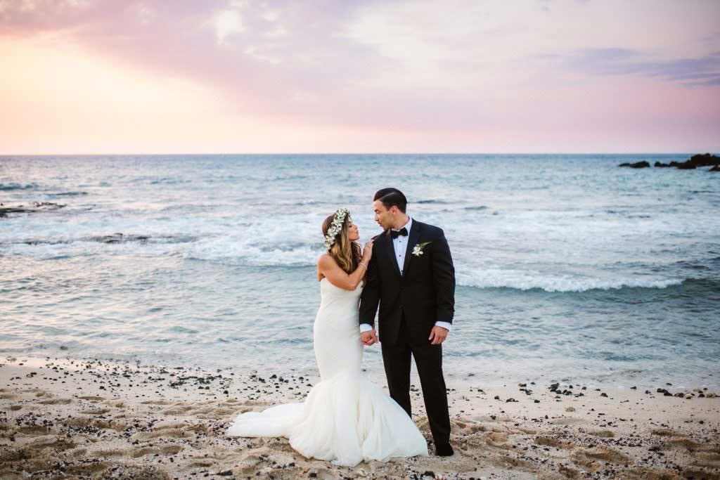 hawaii senset wedding ceremony