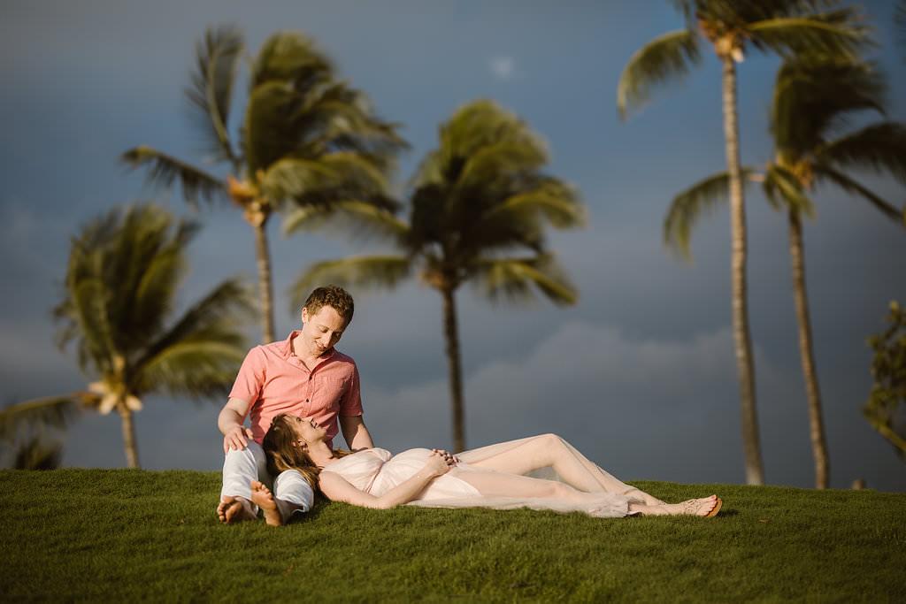maternity photose sesion mauna kea
