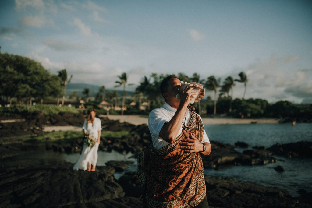 hawaii wedding, big island elopement, hawaii elopement, hawaii wedding, big island wedding, big island wedding ceremony, hawaii beac wedding, hawaii lei, bride flowers, lava wedding, barefoot wedding, big island wedding officiant, big island wedding pastor, first look