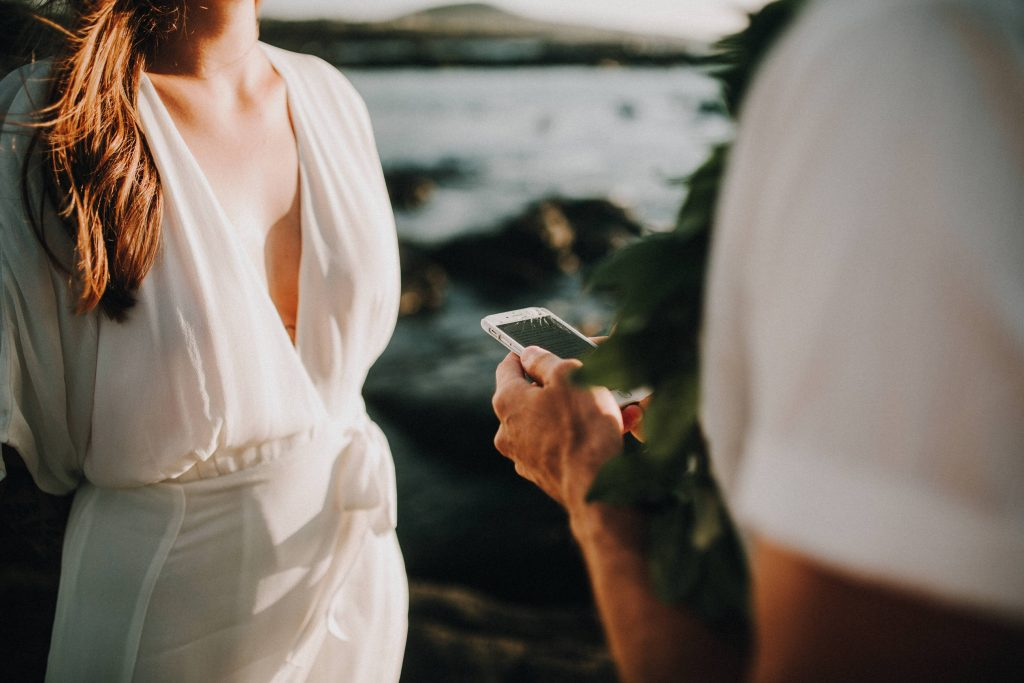 hawaii wedding, big island elopement, hawaii elopement, hawaii wedding, big island wedding, big island wedding ceremony, hawaii beac wedding, hawaii lei, bride flowers, lava wedding, barefoot wedding, vow hawaii
