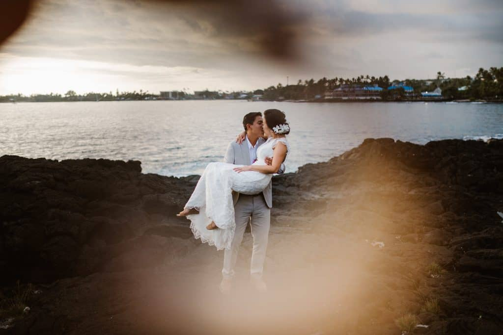 kona weddings, royal kona weddings, kona wedding venue