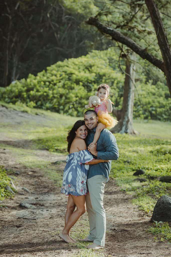 family photo session, waipio valley, big island family photo session, big island photographer, waipio valley photo session
