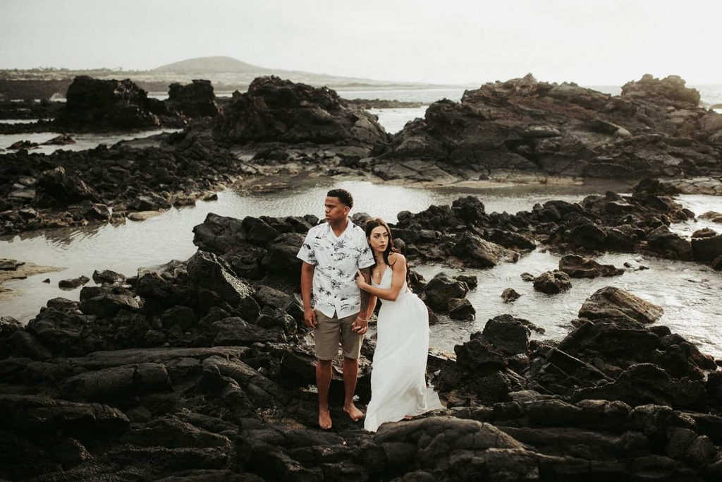 hawaii elopement, kukio beach, kikaua point park, kikaua point beach elopement, elope to hawaii, adventurous elopement, big island engagement, hawaii engagement, elopement, let's elope to hawaii, hawaii elopement photographer, waikoloa photographer, elopement big island, wedding big island, wedding hawaii island