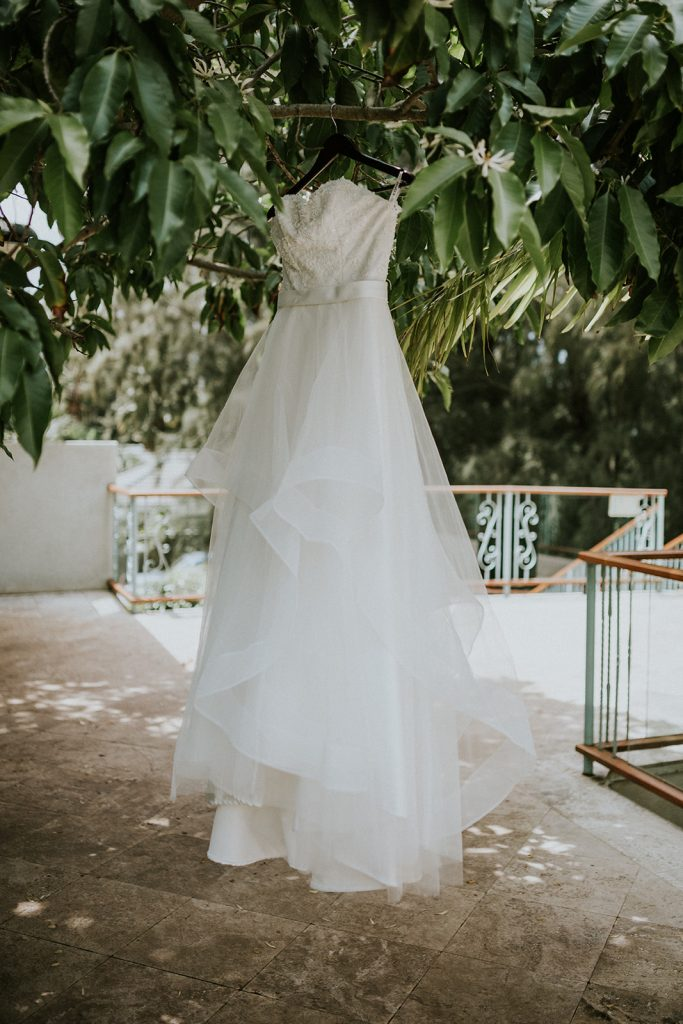 hawaii wedding dress