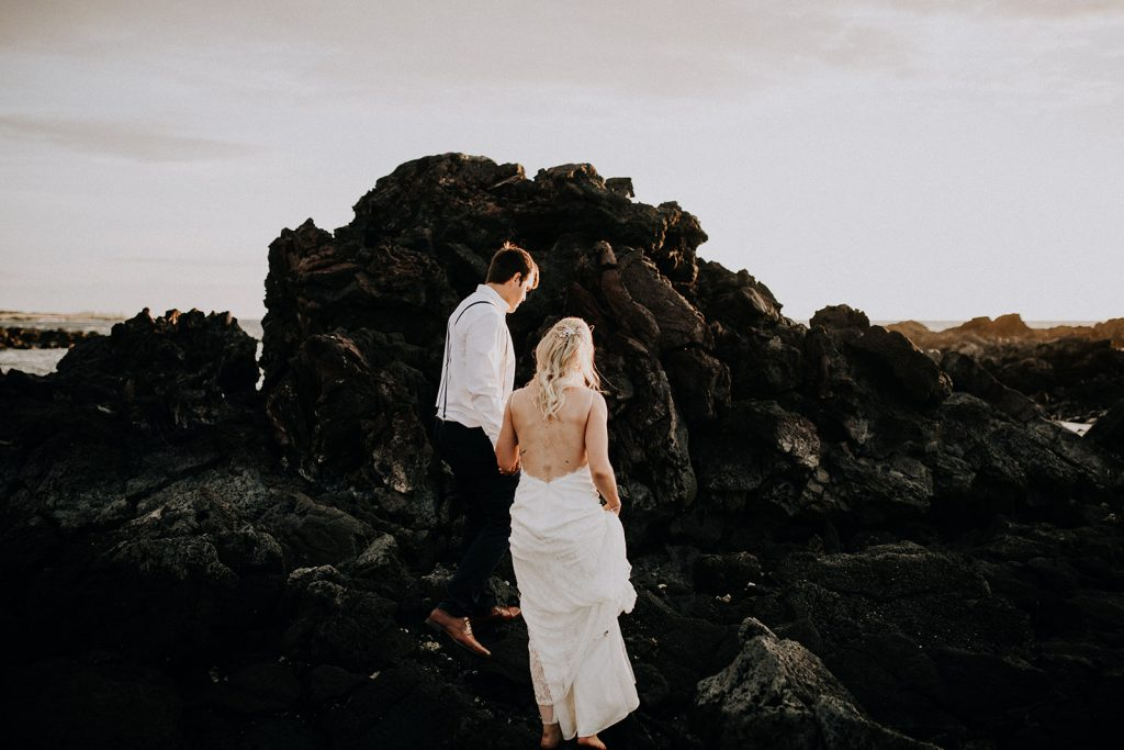 lava wedding, lava fields wedding, lava big island, big island weddings, big island wedding beach