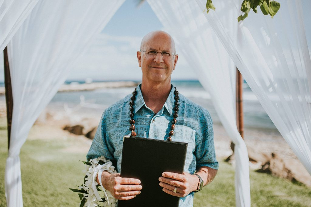 hawaii wedding officiant Kevin Minister