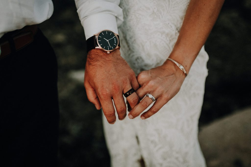 wedding rings, hawaii weddings