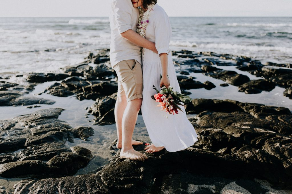 hawaii beac wedding, elope in hawaii
