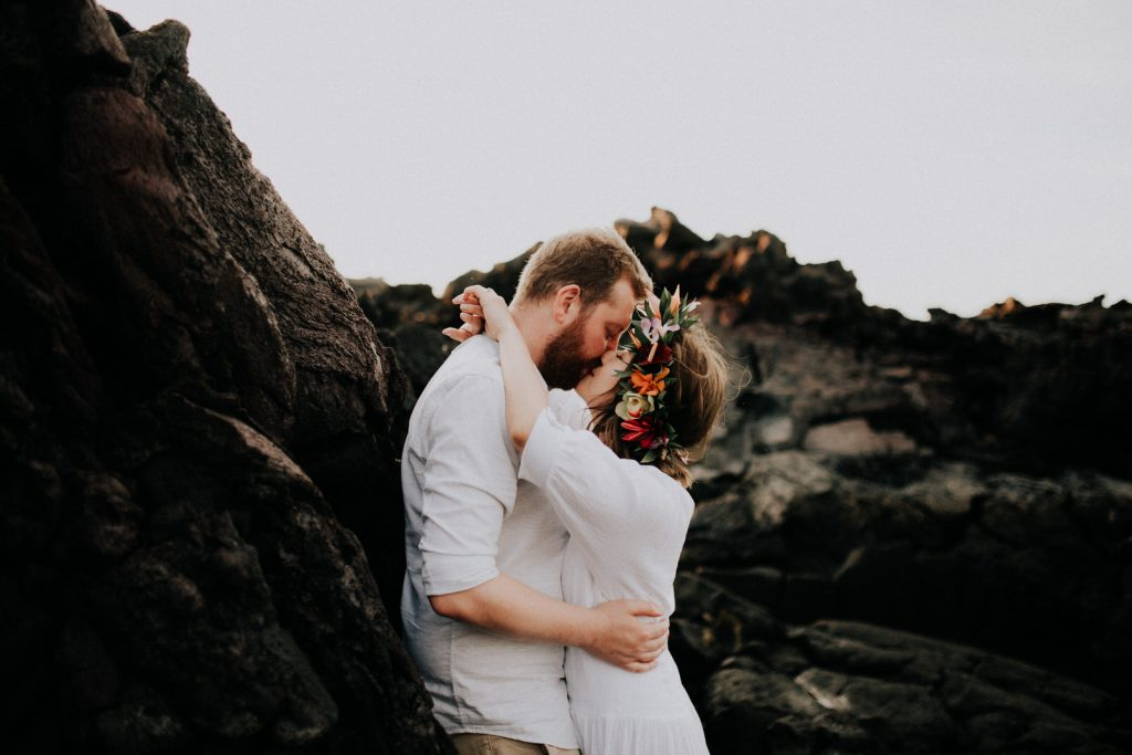 lava fields wedding