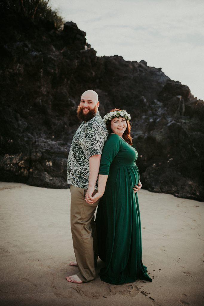 hawaii maternity photographer, big island maternity, hapuna beach, big island photographer, big island family photographer, maternity dress, waikoloa photographer, maternity, maternity outfit ideas