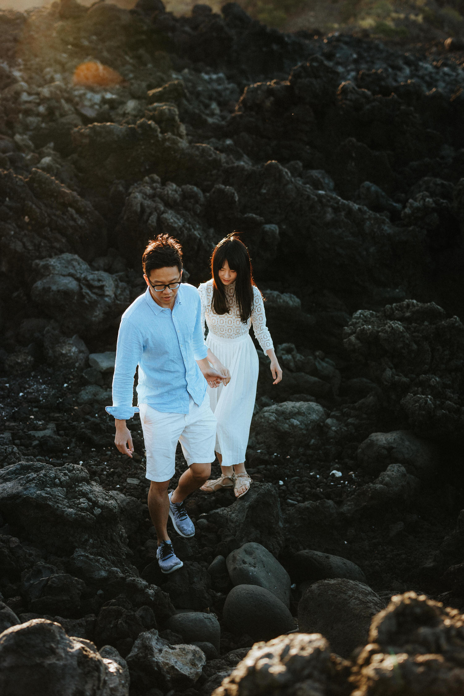 big island engagement, big island engagement photographer, big island secret proposal, how he asked