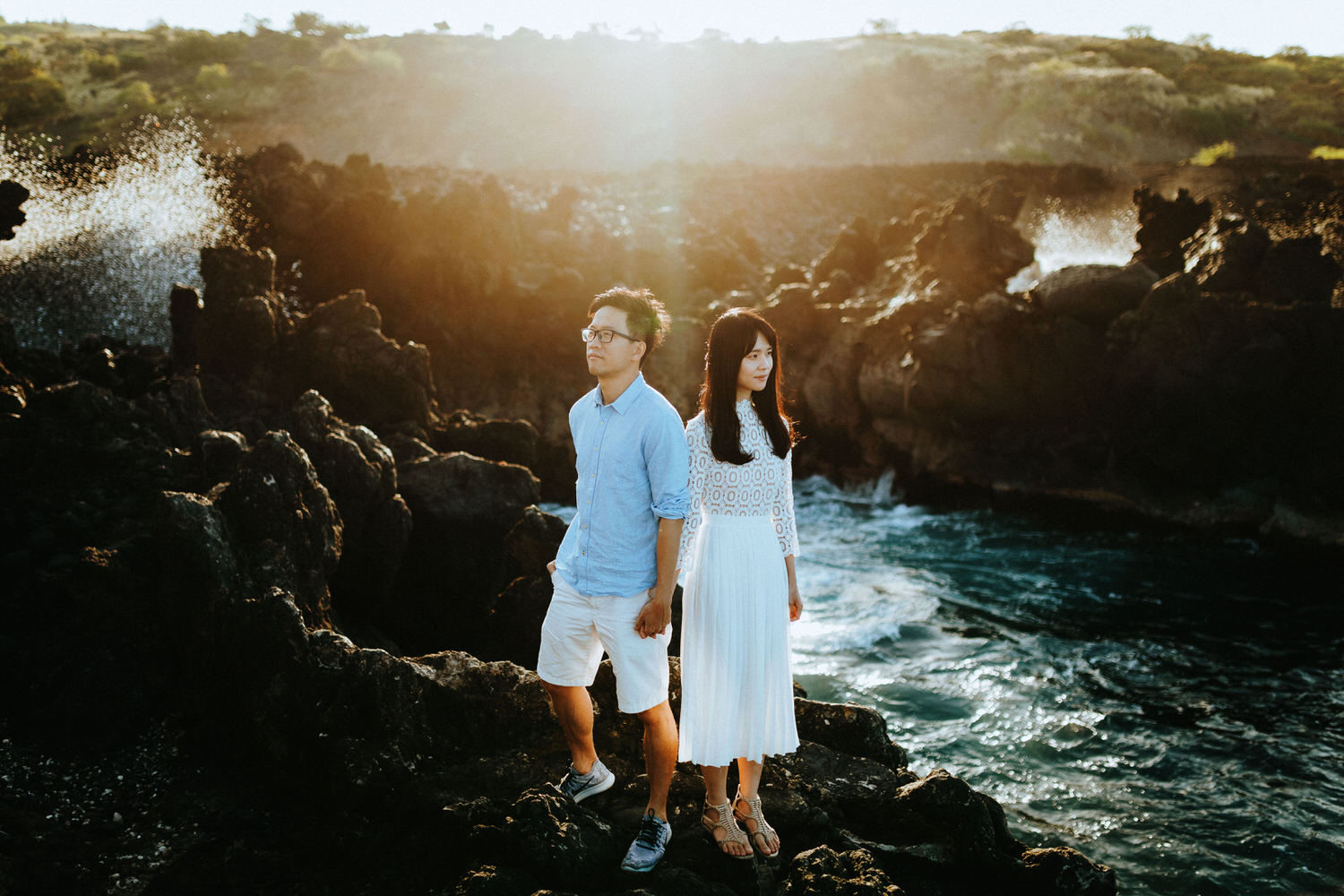 oahu secret proposal, oahu engagement photographers, honolulu photographer, how to propose in oahu, hawaii proposal plans