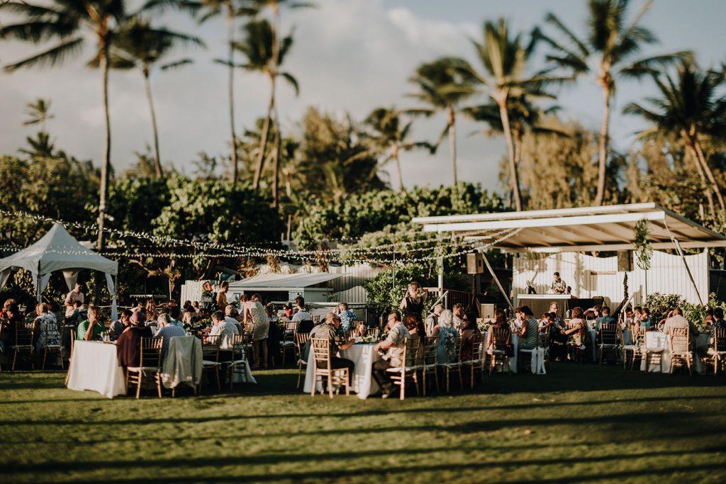 Waikiki Aquarium, Spectrium Entertainment, Honolulu Rentals: Accel Event Rentals, Hawaii Food: Tango Cafe Hawaii   Hair and Makeup: HMB Photography: Couple Cups  Dress: BHLDN Suit: Secret Tailor Ring: Doyle &Doyle Sushi: Superb Sushi