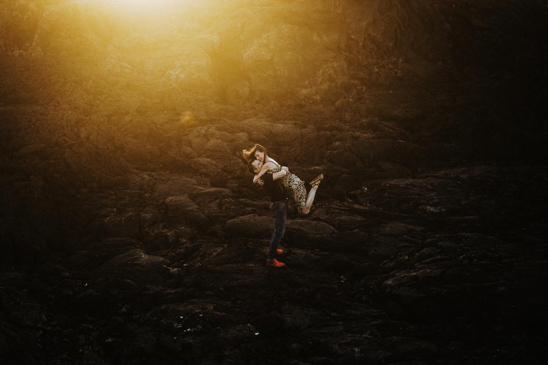 hawaii engagement, big island engagement, big island engagedment photographer, hawaii secret proposal, big island secret proposal, big island photographer, kona photographer, kona engagement, big island photo session, big island beaches, kekaha state park, Mahai'ulu Bay, hawaii photo session, lava photos, lava beach engagement photo sessions
