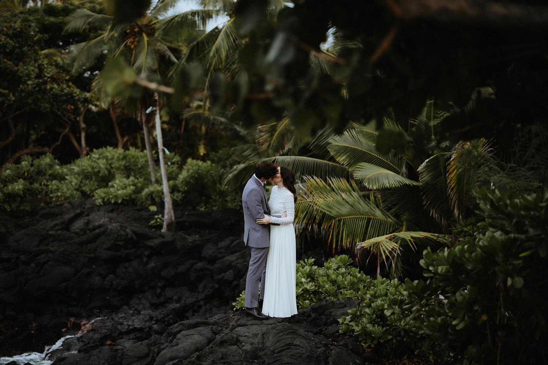 elopement big island, elope big island hawaii, hawaii big island wedding