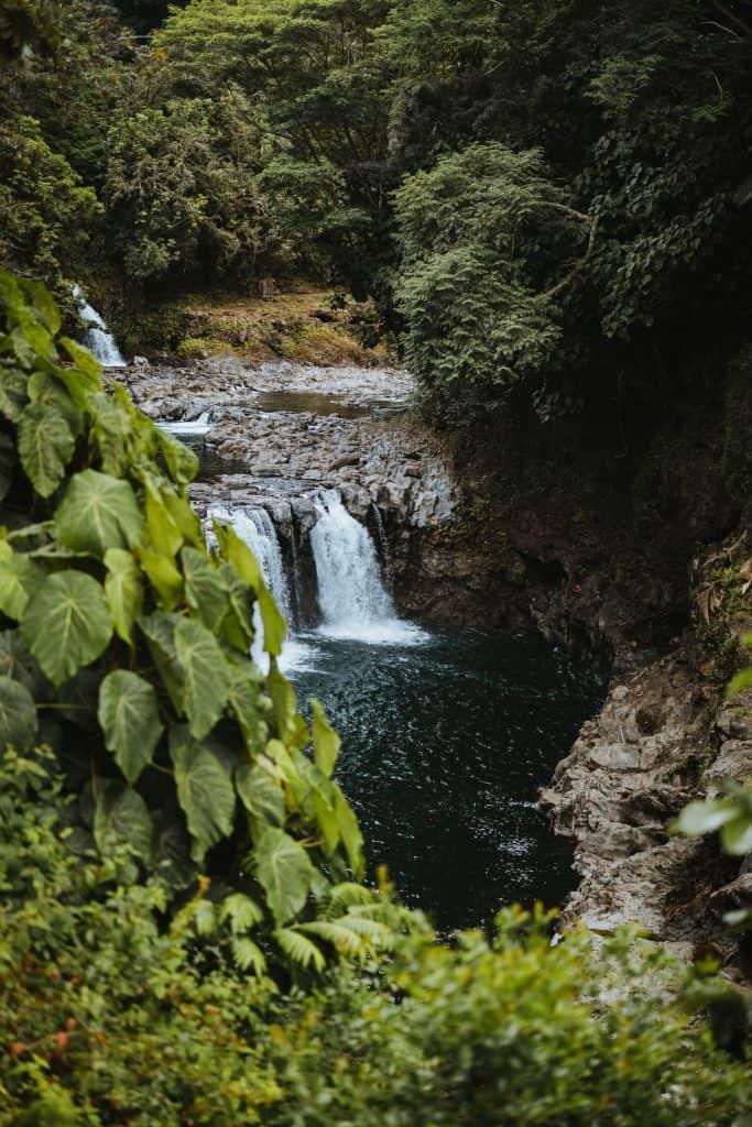 hawaii waterfall, hawaii waterfall weddings, hawaii elopement, big island waterfalls, big island waterfall, big island wedding location, big island waterfall elopement