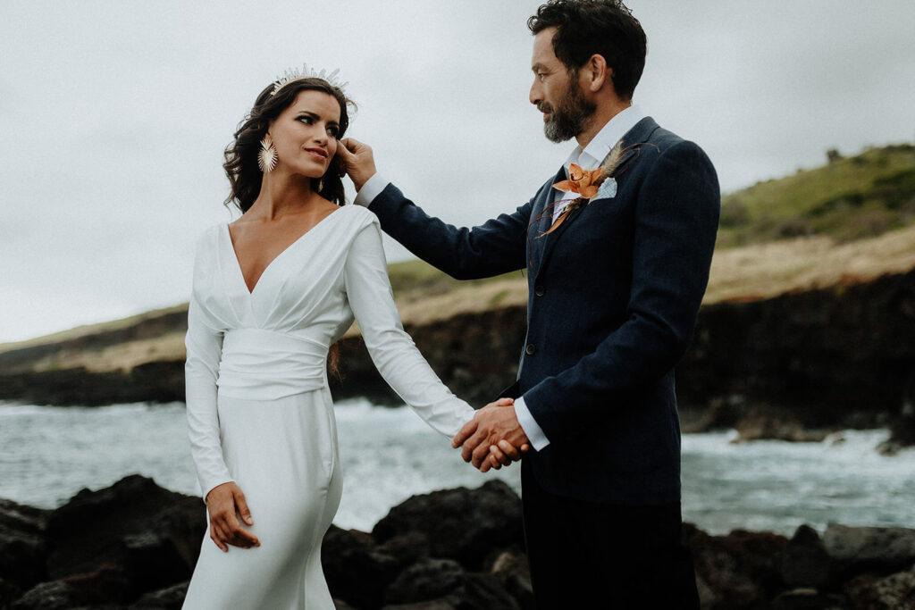 hawaii wedding dress, big island elopement, big island photographer, eloping on the big island hawaii, elopement packages hawaii, big island elopement packages, elope hawaii on the beach, maui elopement