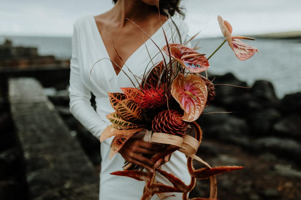 hawaii wedding dress, big island elopement, big island photographer, eloping on the big island hawaii, elopement packages hawaii, big island elopement packages, elope hawaii on the beach, maui elopement, maui photographer, maui weddings, maui elopement packages, big island bride, hawaii modern wedding, planning wedding hawaii, hawaii florist, big island florist