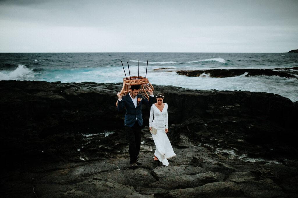 big island wedding for two